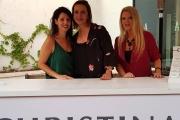 """אירוע על טהרת הכוח הנשי של חברת הקוסמטיקה המקצועית """"כריסטינה""""  ביחד עם  אירה דולפין וקרן ברטוב"""